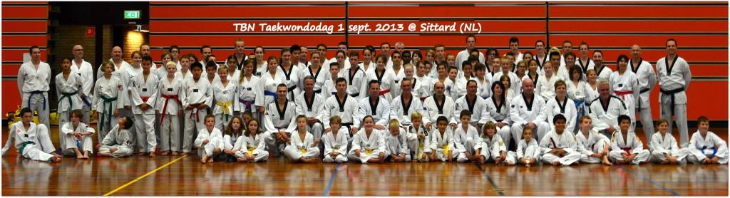 TBN Taekwondodag 1 sept. 2013 te Sittard