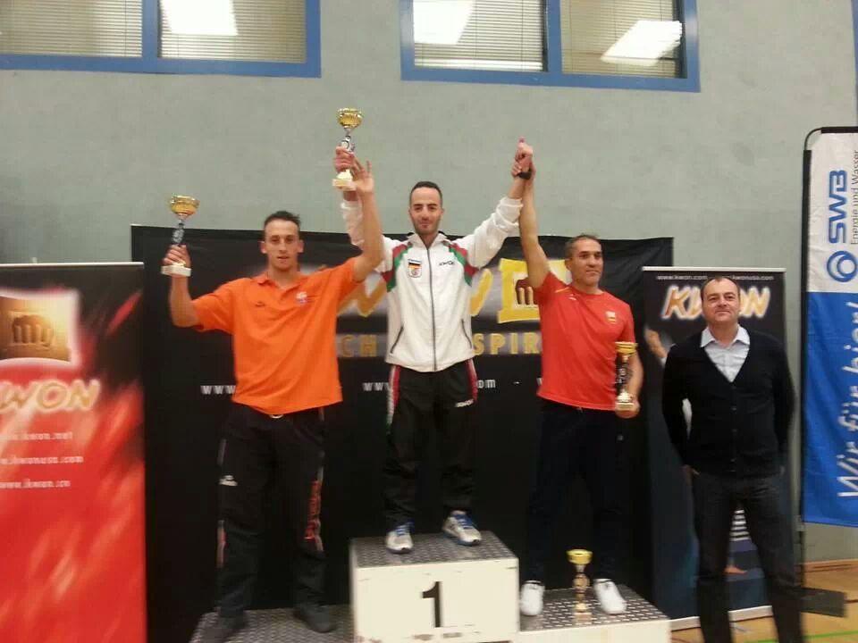 NRW podium