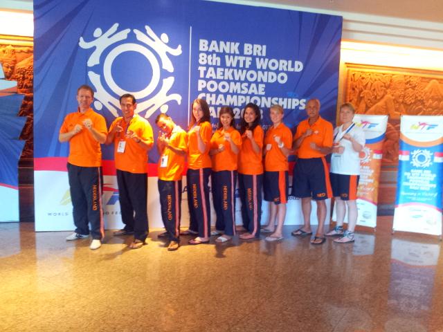 WK Poomsae 2013 NED Team