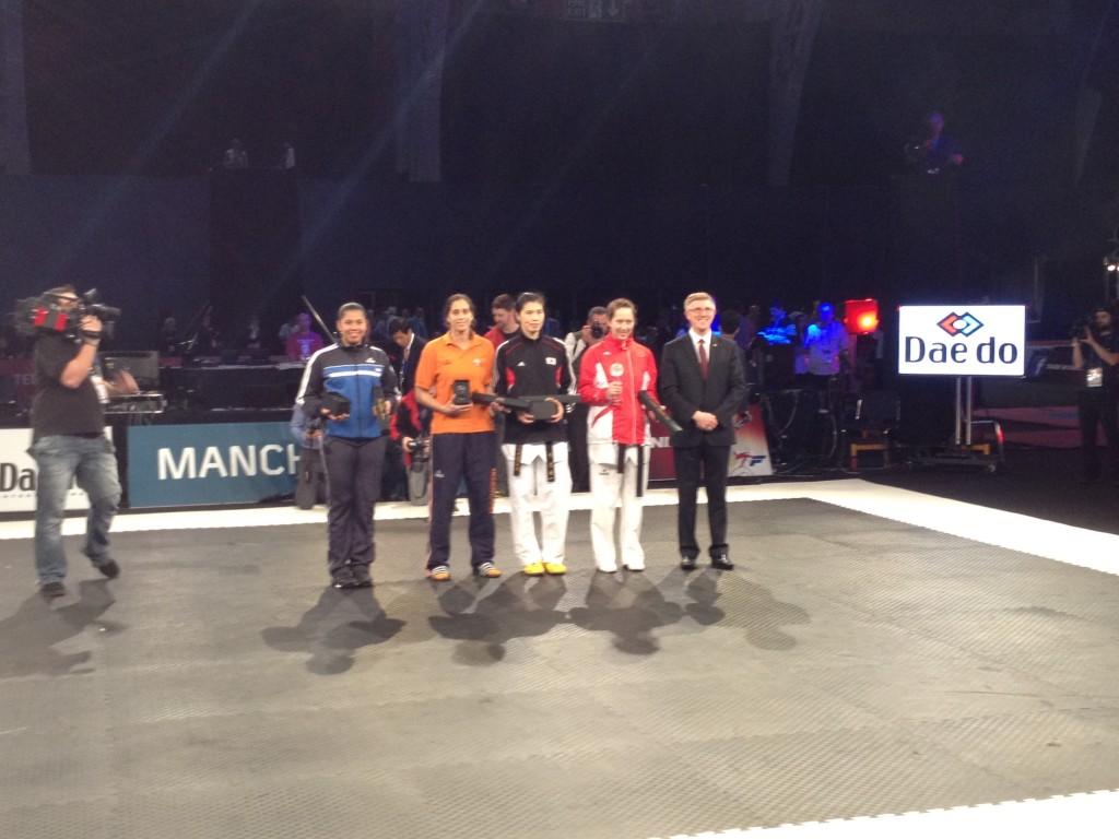 Grand Prix prijswinnaars boven 67kg