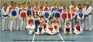 TBN sparring stage regio Zuid o.l.v. Tommy Mollet