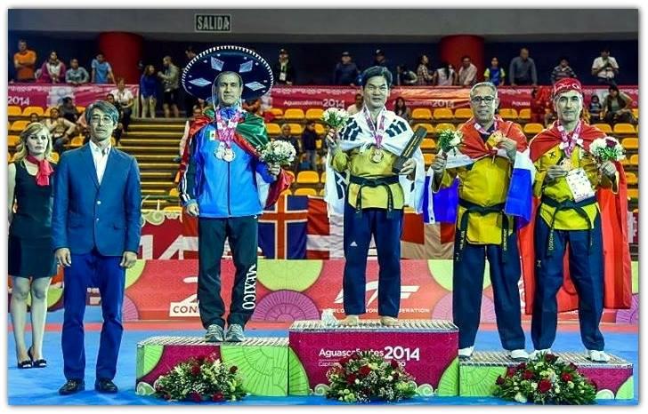 Ata Alavi - bronzen medaille