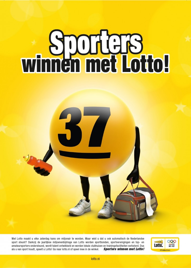 Lotto advertentie