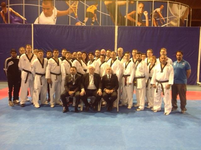 ETU coach seminar maart 2015