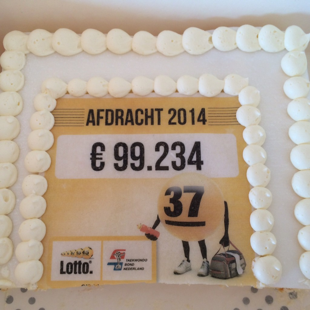 Lotto taart