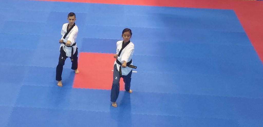 EK Poomsae 2015 goud juniorenpaar