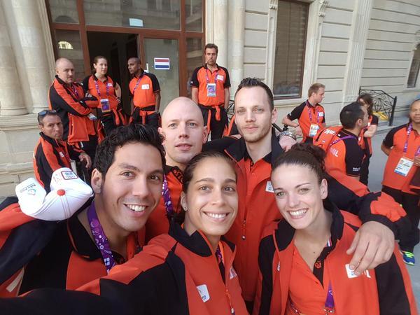 European Games selfie