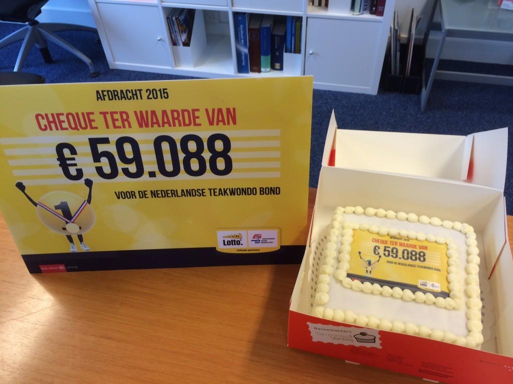 Lotto afdracht TBN 2015