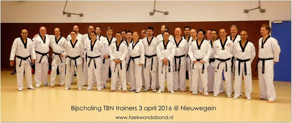 Trainersbijscholing april 2016