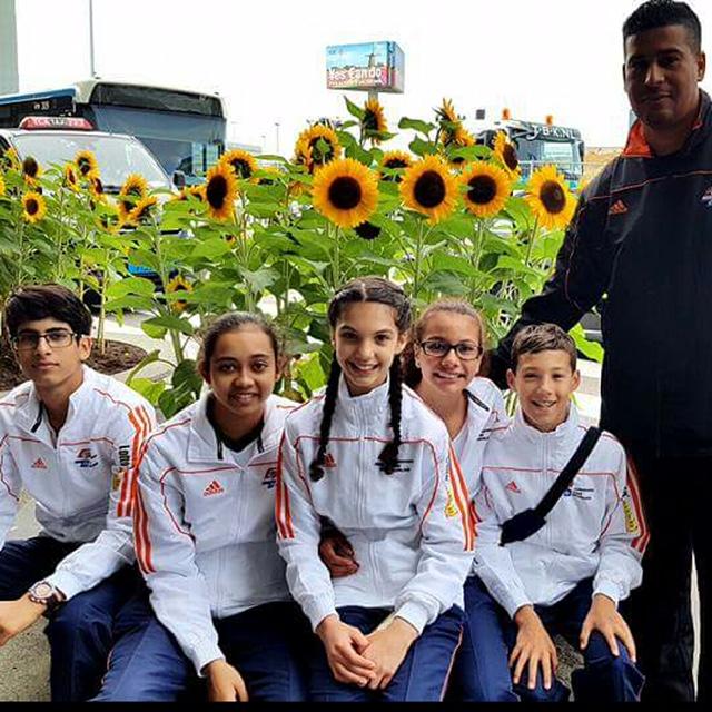 EK cadet 2016 sunflowers